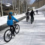 Snow Biking Vail Colorado