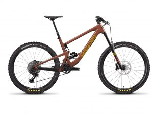 Santa Cruz Bronson R Yellow Red